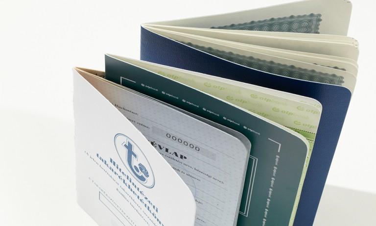Takarékbetétkönyvek