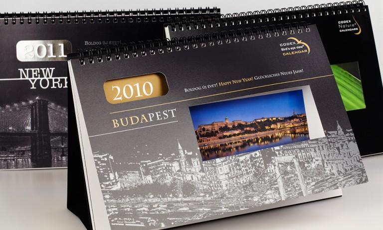 Asztali naptárok