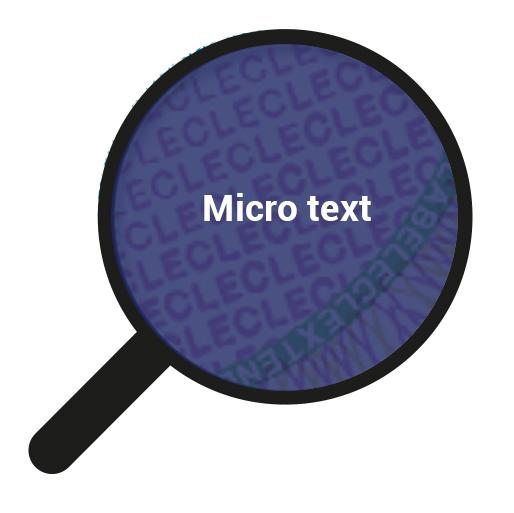 Micro text