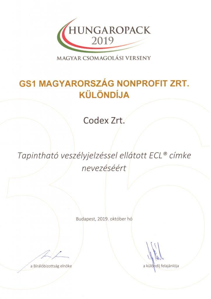 HUNGAROPACK 2019 award